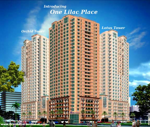 One Lilac Place at Grand Midori Makati is a condominium development of Federal Land Inc.